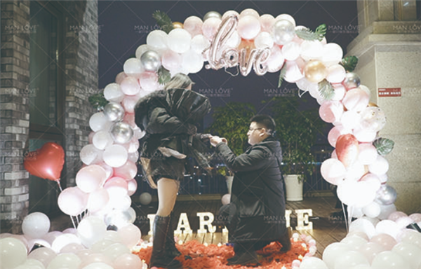求婚可以有哪些浪漫的创意?浪漫求婚方式推